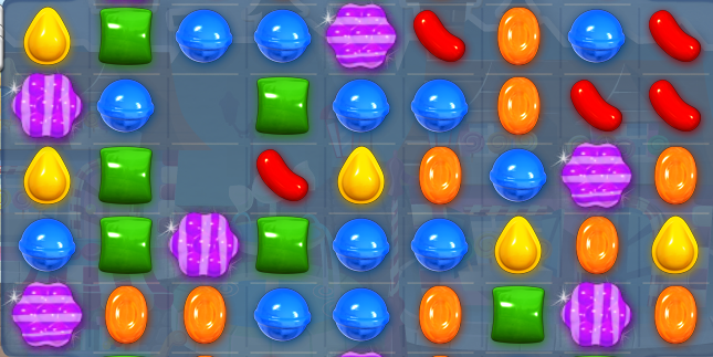 Striped Candy + Color Bomb Combo